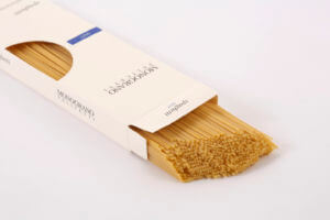 緑の革命以前の小麦。遺伝子学的にピュアな小麦粉で作ったパスタ。