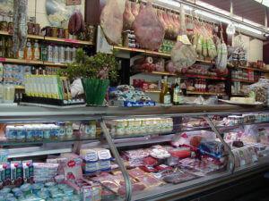 イタリアの食料品店