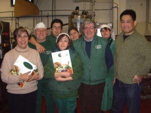 フラントイオビアンコ社の人達と2007年