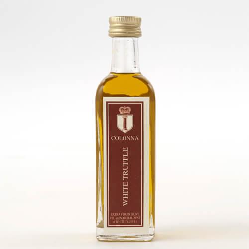 白トリュフフレーバー付きエキストラバージンオリーブオイル小瓶